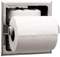 Bobrick B 2840 Stainless Steel Shelf Amp Double Roll Toilet