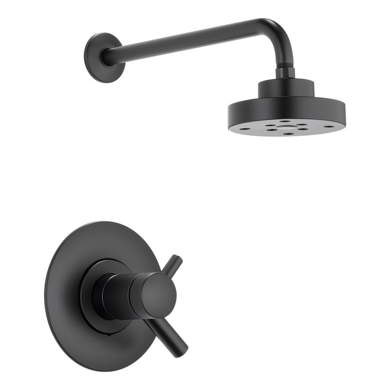 Black Faucets For Bathroom : ... brizo shower faucets brizo t60275 bl jason wu shower faucet black