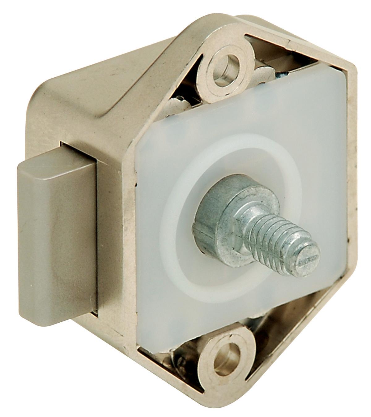 ... push button locks hafele 211 61 606 push lock mini plastic nickel