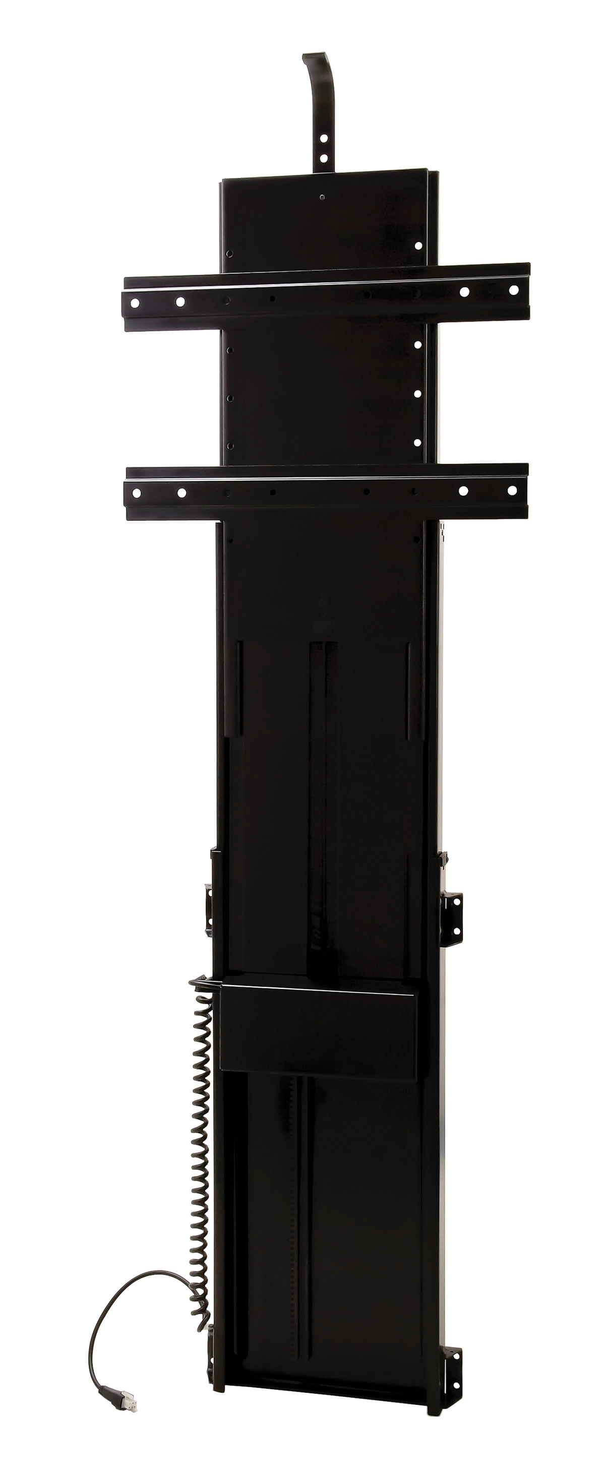 Hafele tv lift motorized black for Motorized flat screen tv lift