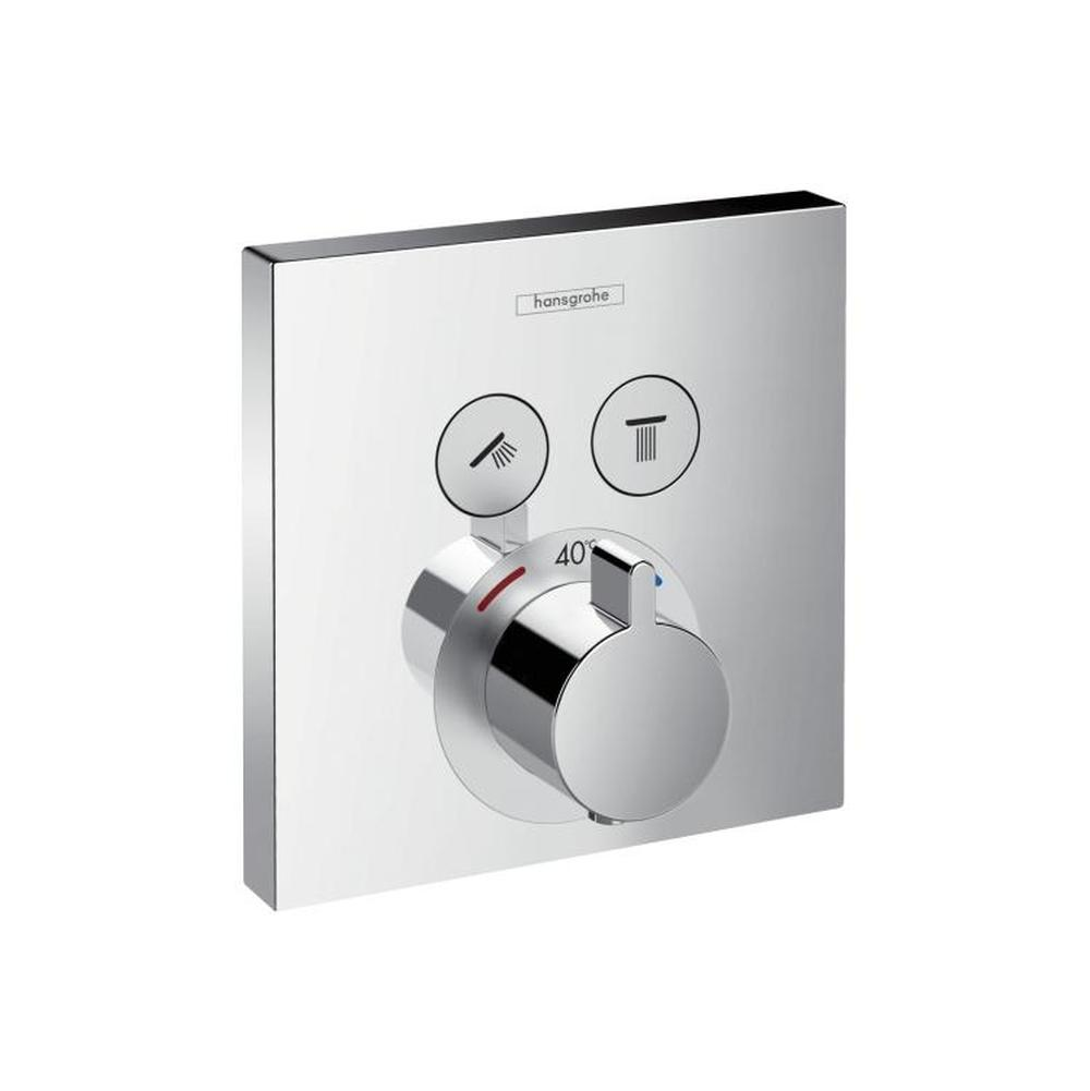 hansgrohe 15763821 shower select e thermostatic trim 2. Black Bedroom Furniture Sets. Home Design Ideas