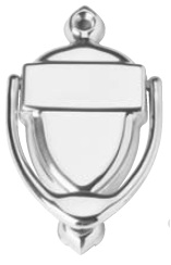 IVES 763B Door Knocker with Number Plate