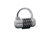 """Master Lock Company 1534DWHT Set Your Own 3/4"""" Shackle Combination Lock"""