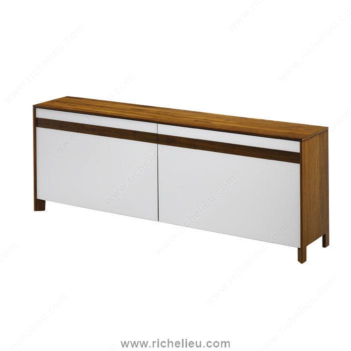 richelieu 8920600fn predetermined width system for floor cabinet sliders20. Black Bedroom Furniture Sets. Home Design Ideas