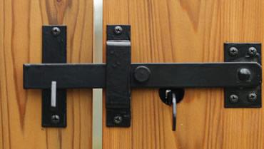 Snug Cottage 6159 B316 Black 316 Stainless Suffolk Latch