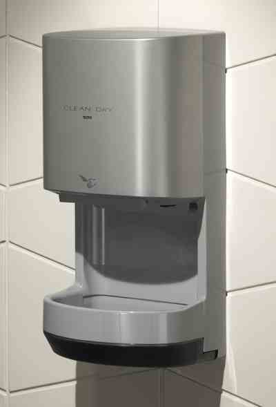 Toto HDR100#GY CleanDry High Speed Hand Dryer