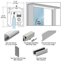 CRL CRL2812CRL280 Series Single Sliding Door Wall or Ceiling Mount Installation Kit