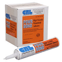 CRL 1217349 Somaca POWR BOND Hi-Viscosity Auto Glass Urethane Adhesive, 10.1 Fl Oz Cartridge