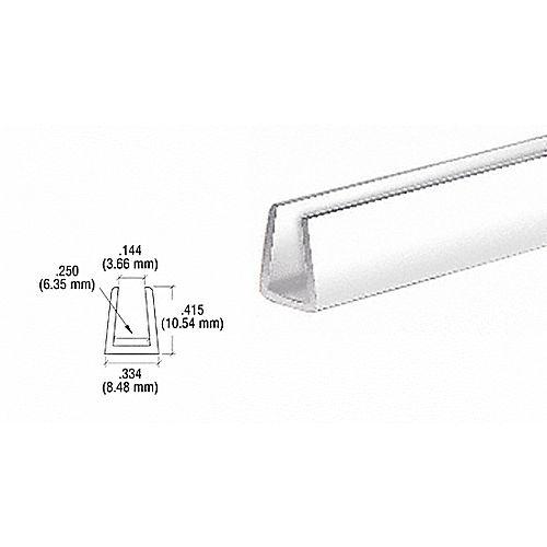 Crl D720w White Plastic U Channel Molding Builderssale Com