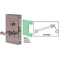 CRL DL610LSDU LH Center Lock with Deadlatch in Storeroom Function