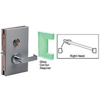CRL DL610RSBS RH Center Lock with Deadlatch in Storeroom Function