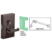 CRL DL610RSDU RH Center Lock with Deadlatch in Storeroom Function