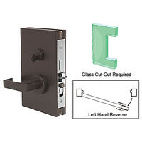 CRL DL611LEDU LHR Center Lock with Deadlatch in Entrance Lock Function