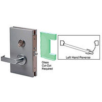 CRL DL611LSBS LHR Center Lock with Deadlatch in Storeroom Function