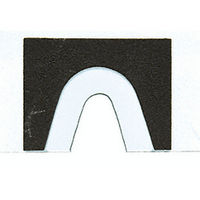 CRL DNS1TC Template for SGC188 Glass Clamps