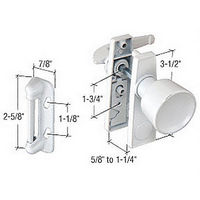 CRL K5121 Screen and Storm Door Tulip Knob Latch with 1-3/4