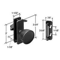 CRL K5340 Screen and Storm Door Knob Latch with 3