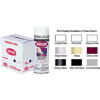 CRL KP1501 Krylon Spray Paint, Glossy White