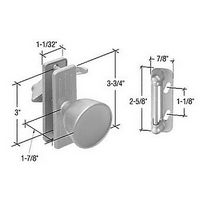 CRL K5077 Screen and Storm Door Knob Latch with 3