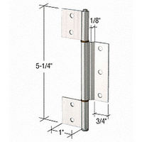 CRL K5093 Offset Replacement Hinge with 1/8