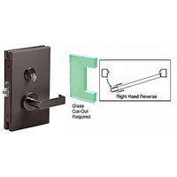 CRL DL611RSDU RHR Center Lock with Deadlatch in Storeroom Function