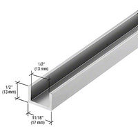 CRL CRL3979A Bottom Channel for Fixed Glass