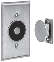 ABH 2400L Recessed Electro-Magnetic Door Holder - Flush Wall Mount & Low Profile Armature