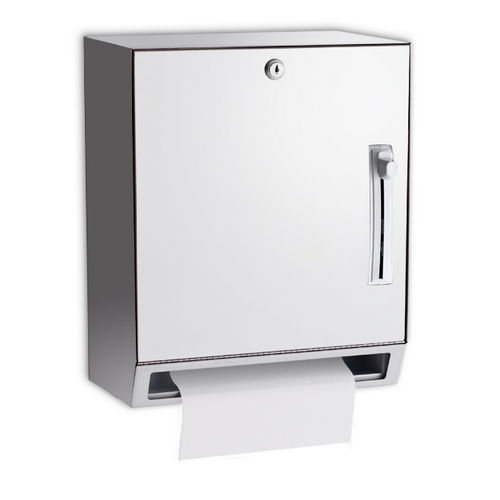 AJW U169AW Lever Operated, Roll Towel Dispenser, Surface Mounted