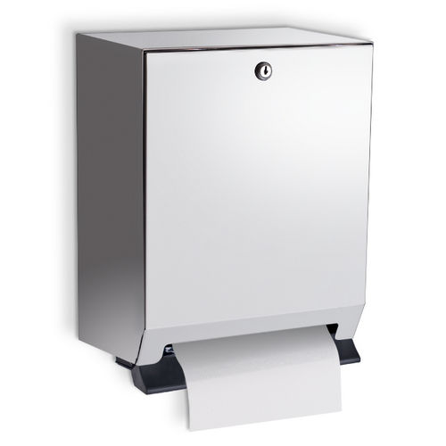 AJW U169FL Full Width Lever Operated, Roll Towel Dispenser, Surface Mounted
