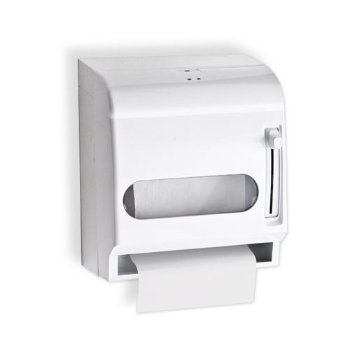 AJW U199AW Lever Operated, ABS Roll Towel Dispenser, Surface Mounted