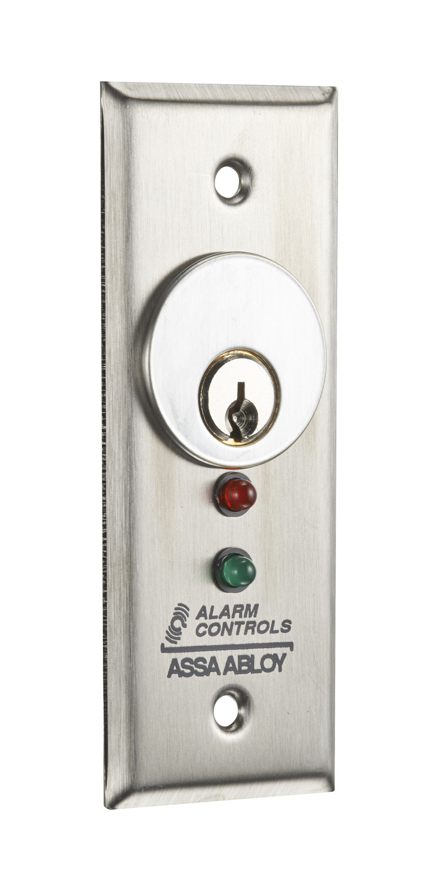 Alarm Controls Mck 3 2 Narrow Stainless Steel Plate With