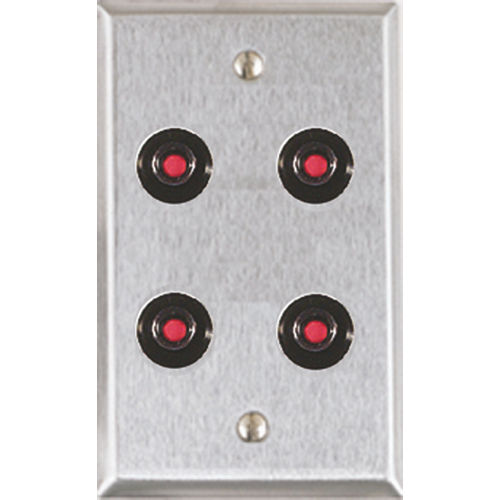 Alarm Controls RP-47P Rp-47 Plate Only for 4 Fa-200 Switches