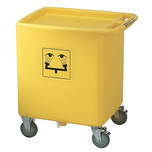 Bradley S19-399 Safety Waste Water Cart for S19-921