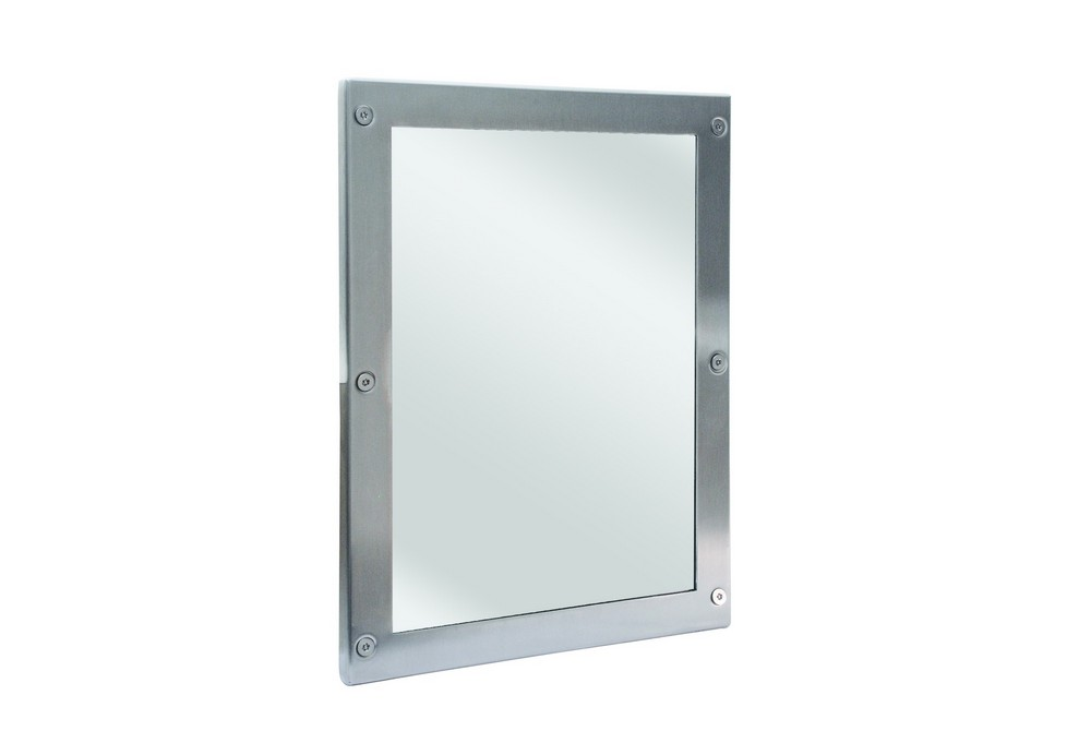 Bradley sa03 000005 security mirror 12 x 16 for Bradley mirror