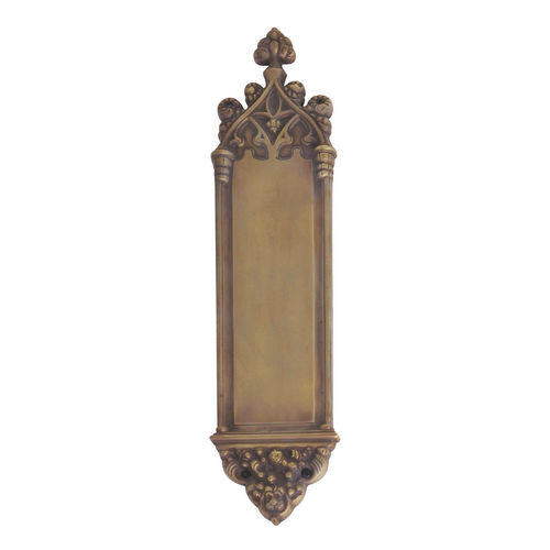 Brass Accents A04-P5600-486 Gothic 3-3/8