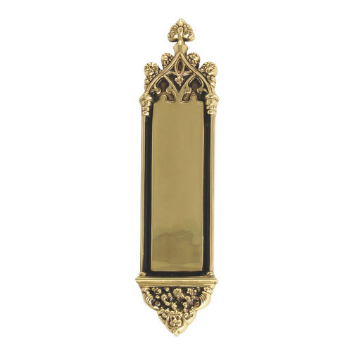 Brass Accents A04-P5600-610 Gothic 3-3/8