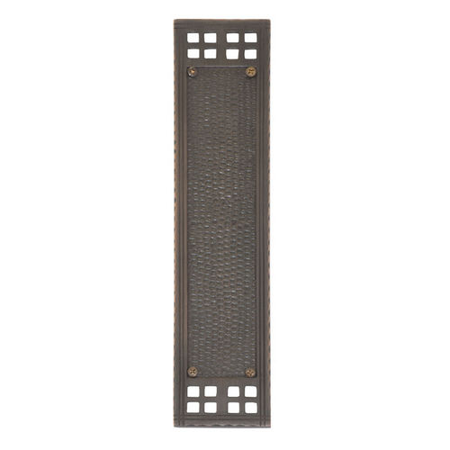 Brass Accents A05-P5350-619 Arts & Crafts Push Plate 2-1/2