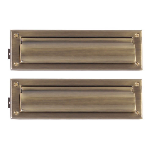 Brass Accents A07-M0010-609 Mail Slot - 3-5/8