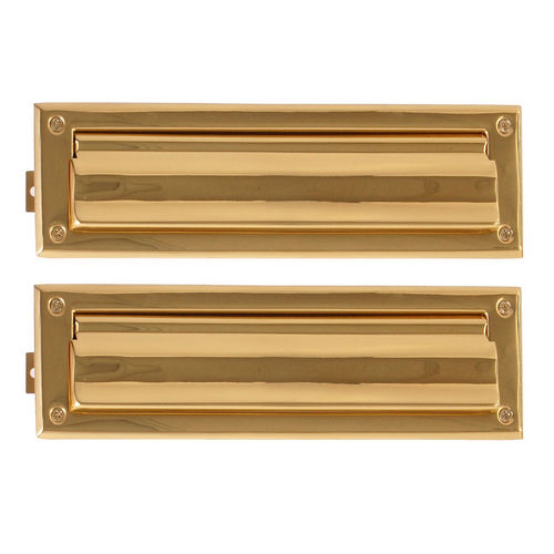 Brass Accents A07-M0010-PVD Mail Slot - 3-5/8