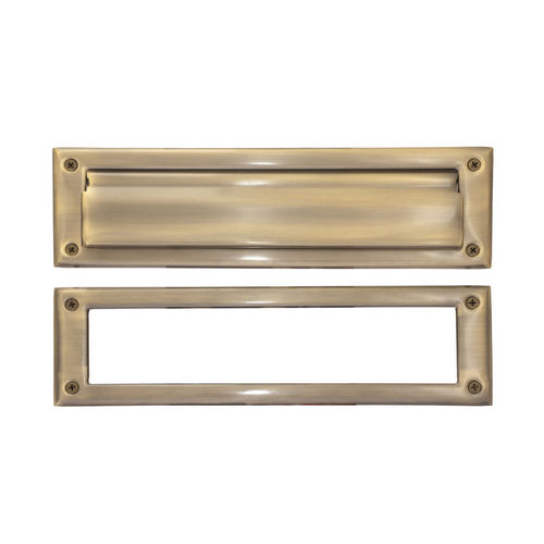 Brass Accents A07-M0030-609 Mail Slot - 3-5/8