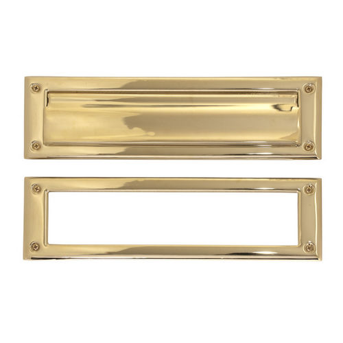 Brass Accents A07-M0030-PVD Mail Slot - 3-5/8