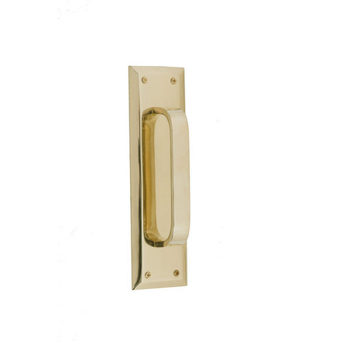 Brass Accents A07-P5401 Quaker Pull and Plate 2-3/4