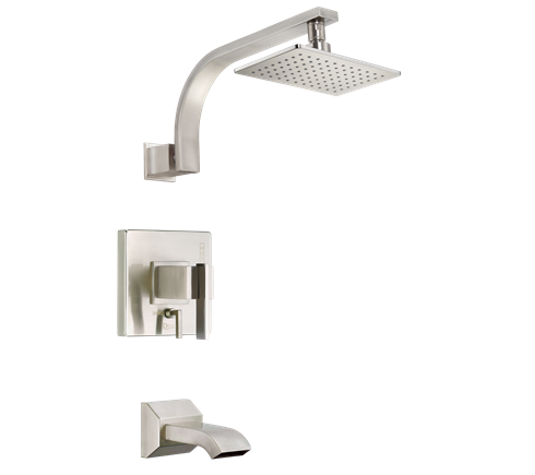 Danze D510044BNT Sirius Tub And Shower Faucet Brushed Nickel