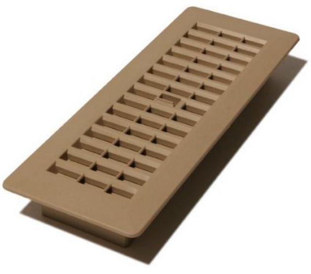 decor grates pl212 ta plastic design floor registers 2 x