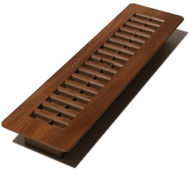 Decor grates pl310 mtg plastic wood design floor registers for Decor grates