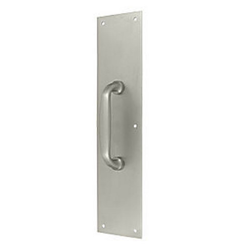 Deltana PPH55U15 Push Plate with Handle 3-1/2