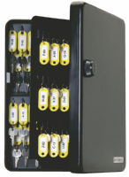 FJM Security SL-9122 KeyGuard Combination Key Cabinet 122 Hooks