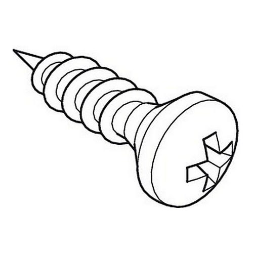 Hafele 778.37.996 Screw for Prewall System, Package