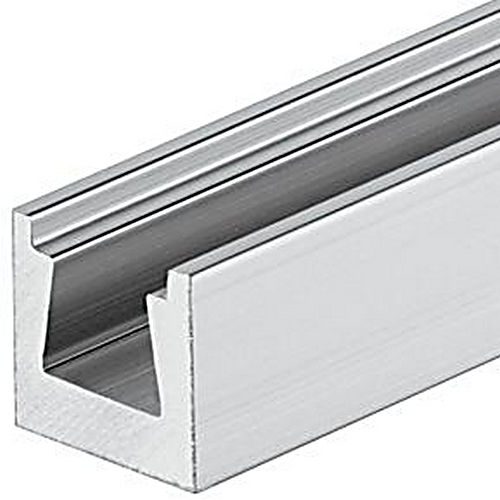 Hafele 261.30.031 Dovetail Connector Rail, Aluminum Natural