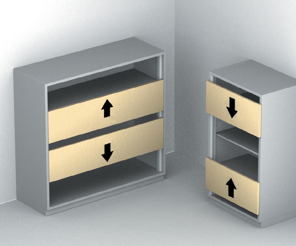 Hafele 40320010 Libra 20 2 Door Syncro Wood Builderssale